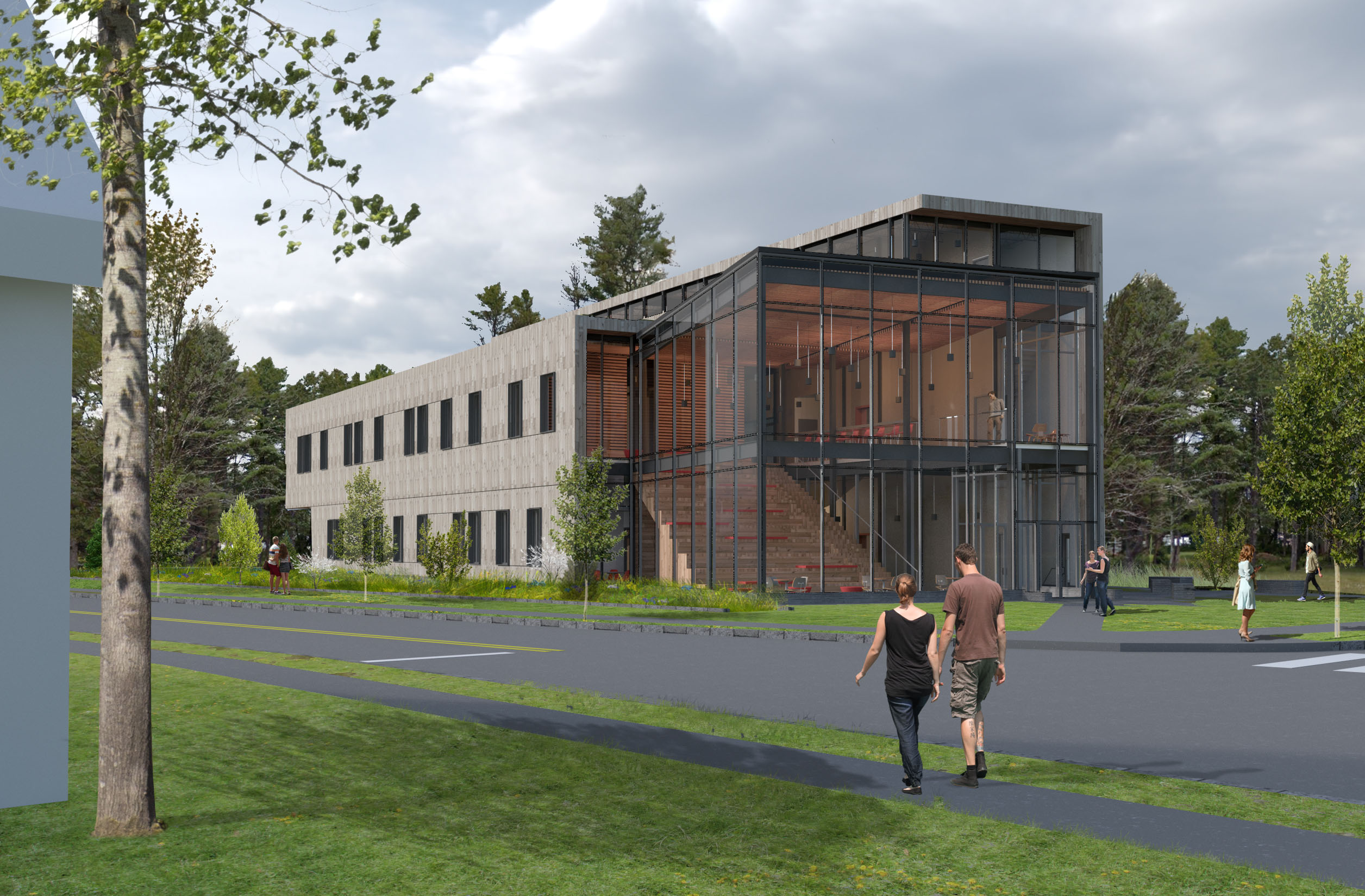 College to break ground on roux center in may the bowdoin orient courtesy of bowdoin office of communications publicscrutiny Images