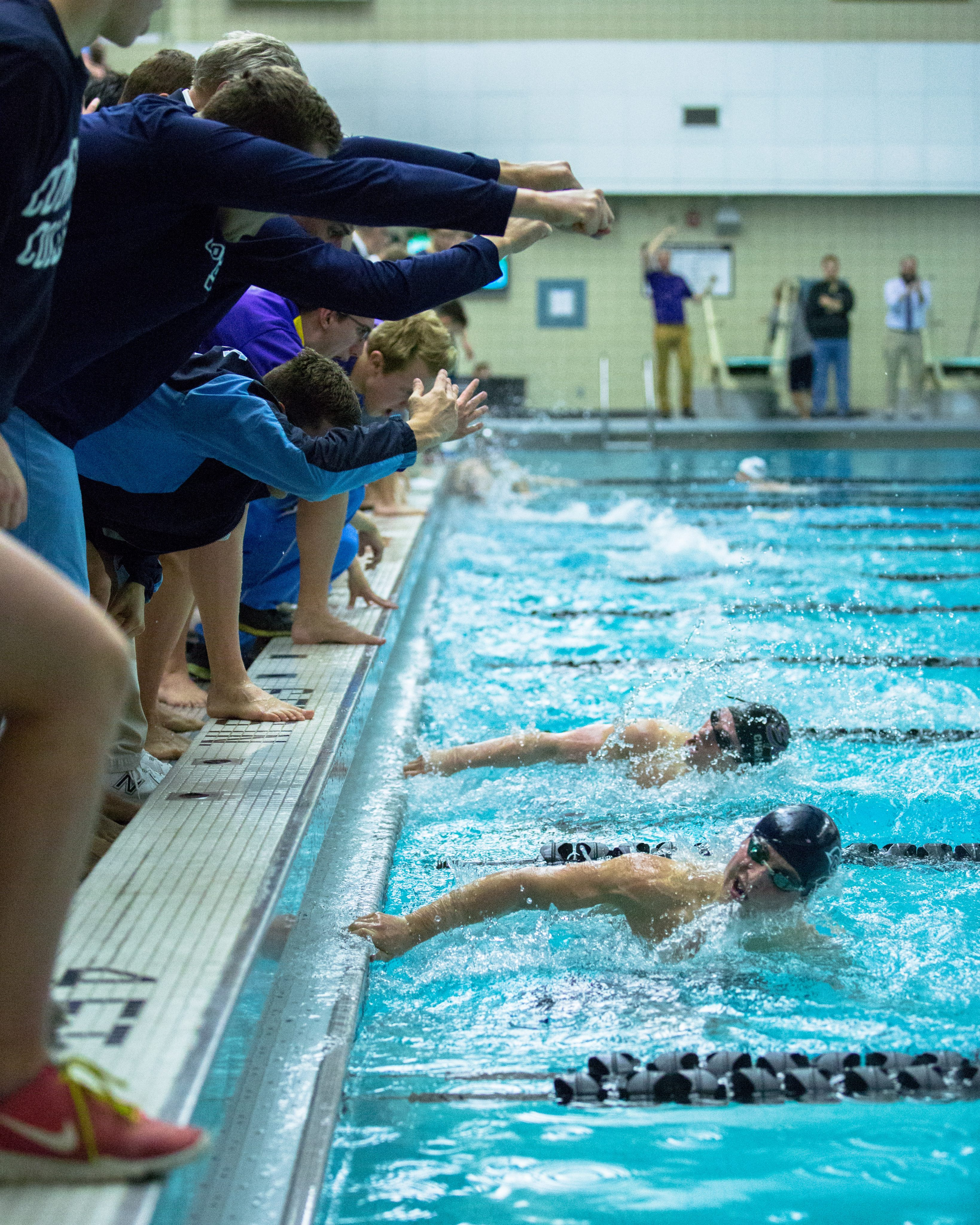 Swimming and diving set records at nescac meet the bowdoin orient - Dive recorder results ...